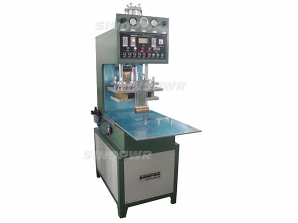 Manual turntable HF welding machine