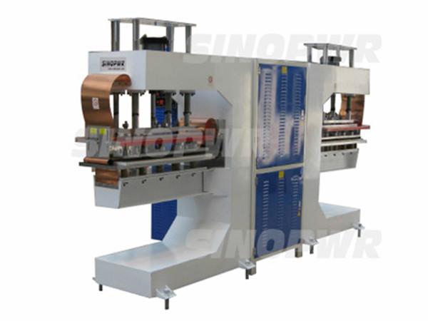 High frequency conveyor bel welding machine