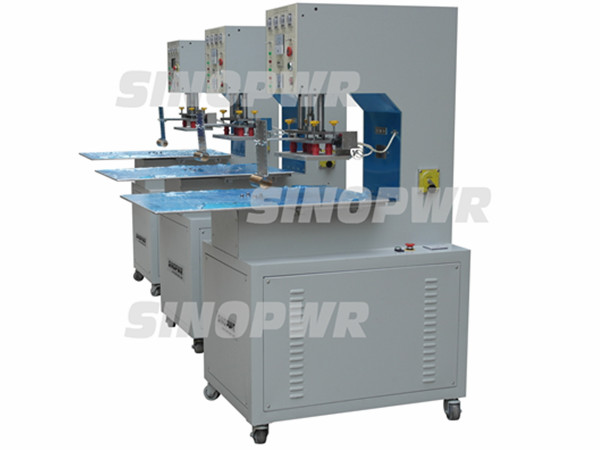 Manual slide plate welding machine