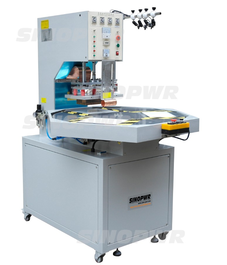 Turntable blister packing machine