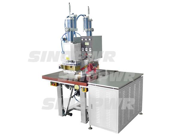Dould heads HF weld & cut machine