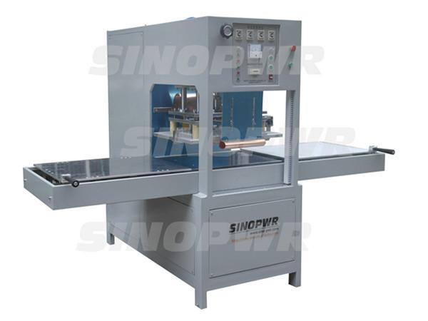 High frequency manual slide plate welding machine