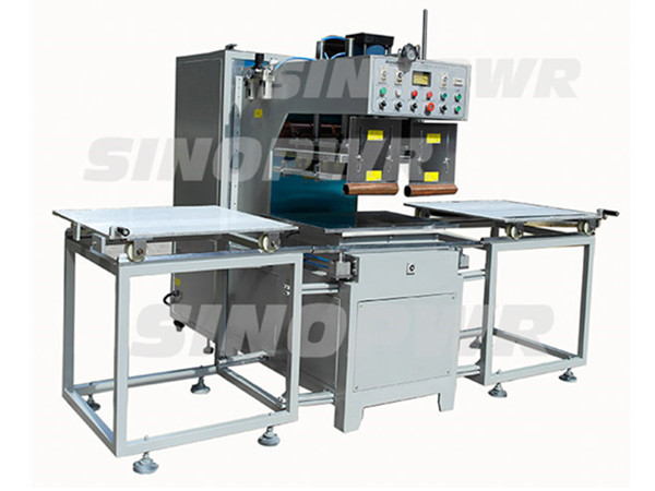 High frequency 15kw manual slide plate welding machine