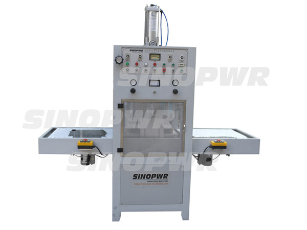 Slide plate high frequency machine