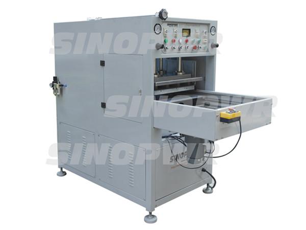 High frequency pushing plate welding machine