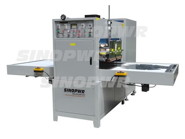 Strong power automatic HF sliding way welding machine