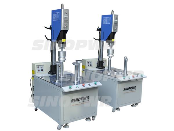 Round table ultrasonic plastic welding machine