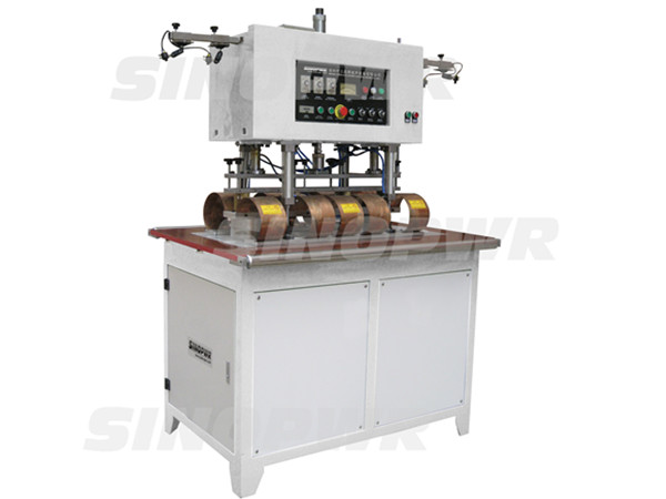 High frequency suspended heads tarpaulin welding machine