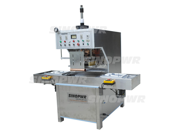 Slide plate medical products welding machine