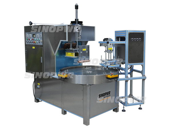 High frequency dialyzing paper welding machine