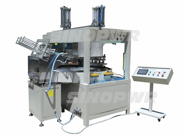 High frequency blister with dialysis paper packing machine