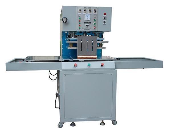 Manual slide table HF welding machine