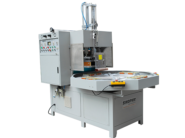 High frequency clamshell papercard packing machine