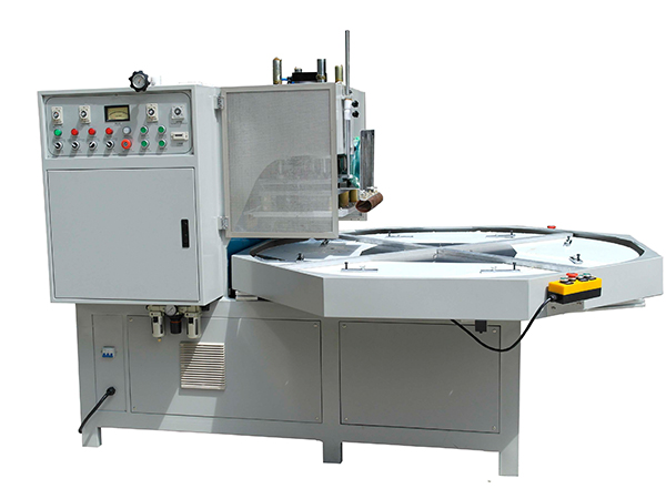 High frequency turn table welding machine