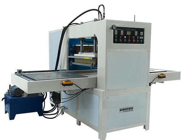 Hydraulic HF sliding plate welding machine