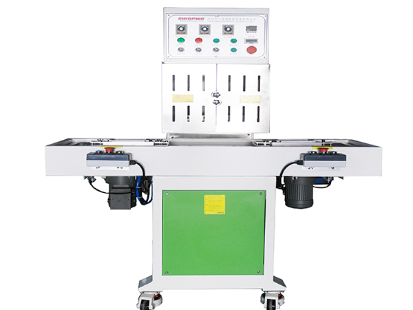 Medical pills blister and silver paper heat sealing machine