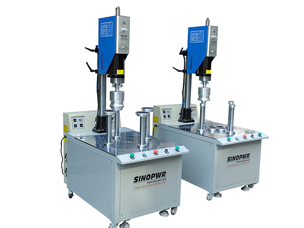 Multi-heads ultrasonic plastic welding machine