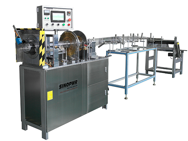 Ultrasonic cylinder boxes forming machine