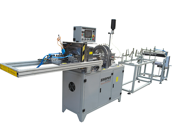 Plastic Cylinder Tube Forming Machines with punching