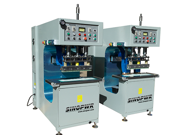 High frequency plastic welding machine for biogas bag