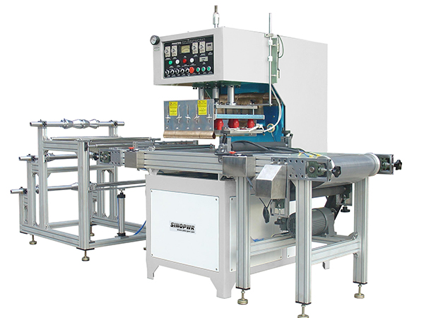 HF soft crease welding machine for plastic book cover