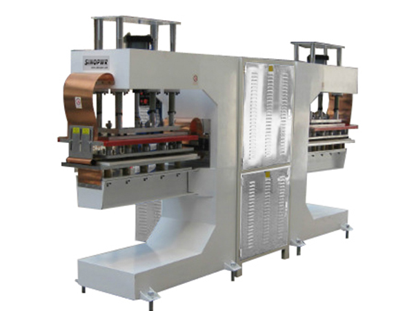 High frequency belt sidewall welding machine