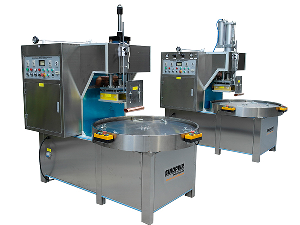 High frequency medical product package sealing machine
