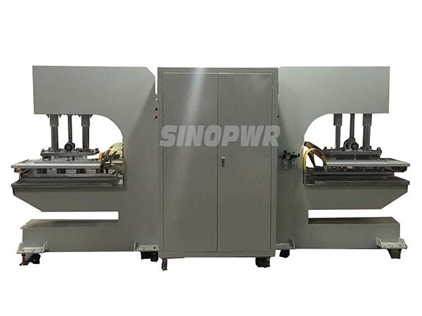 High frequency conveyor belt welding machine