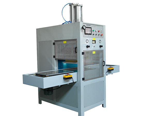 High frequency welding machine for plastic/leather cover